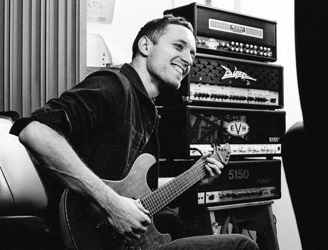Guitarist Tom Searle of Architects