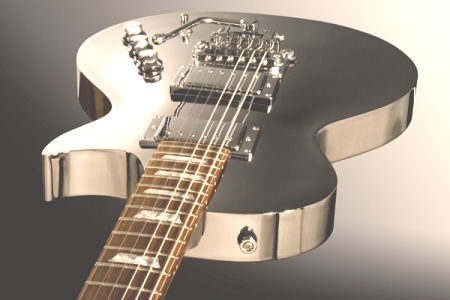 Chrome Aluminum Guitar