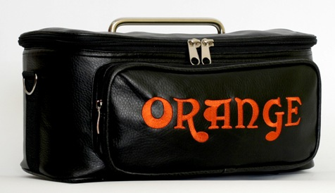 Leather bag from Orange for Tiny Terror