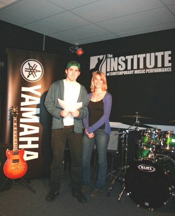 Guitar Scholorship Winner 2009